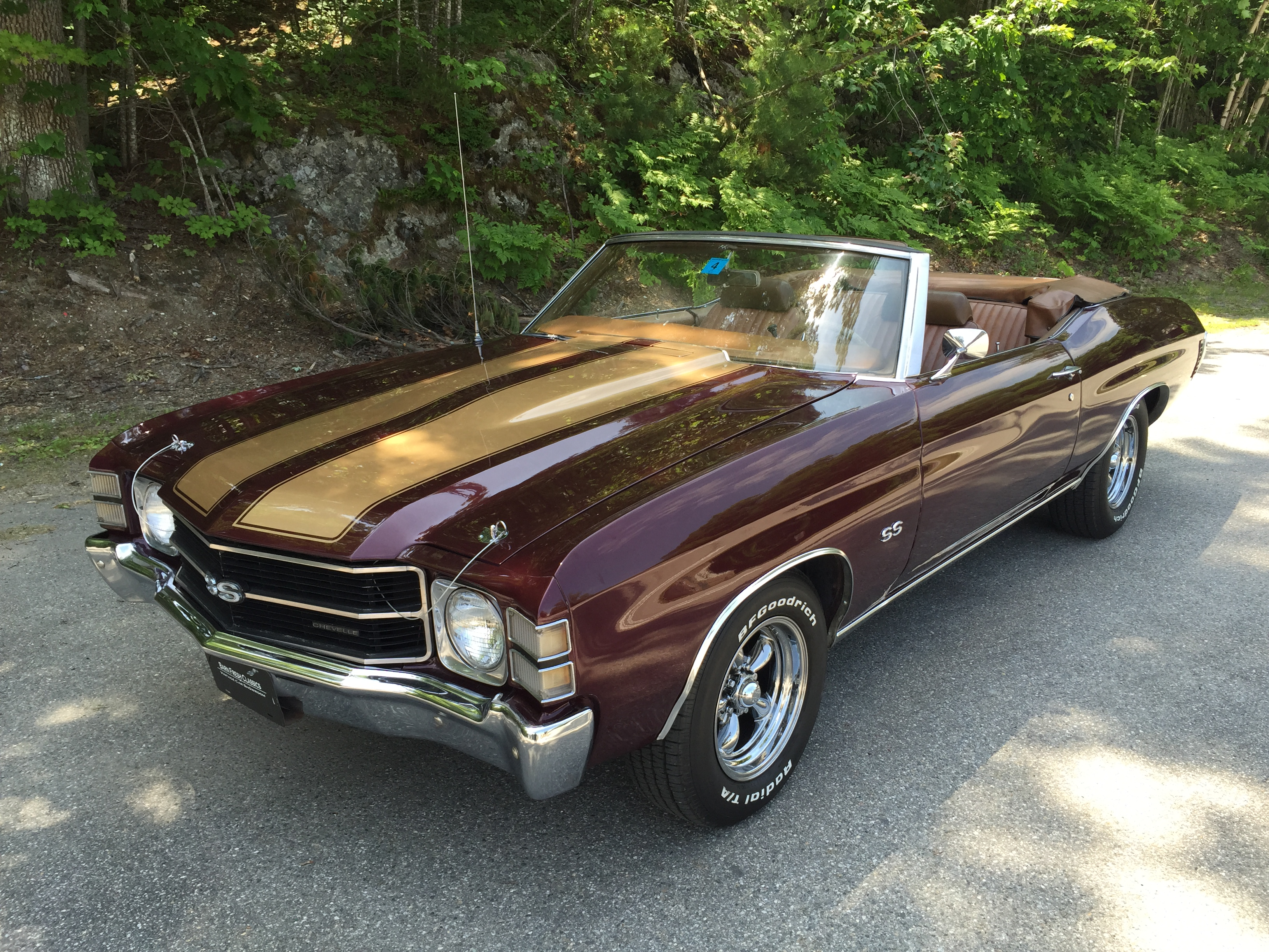 1971 Chevrolet Chevelle SS Convertible 396 Big Block - Barn Fresh ...