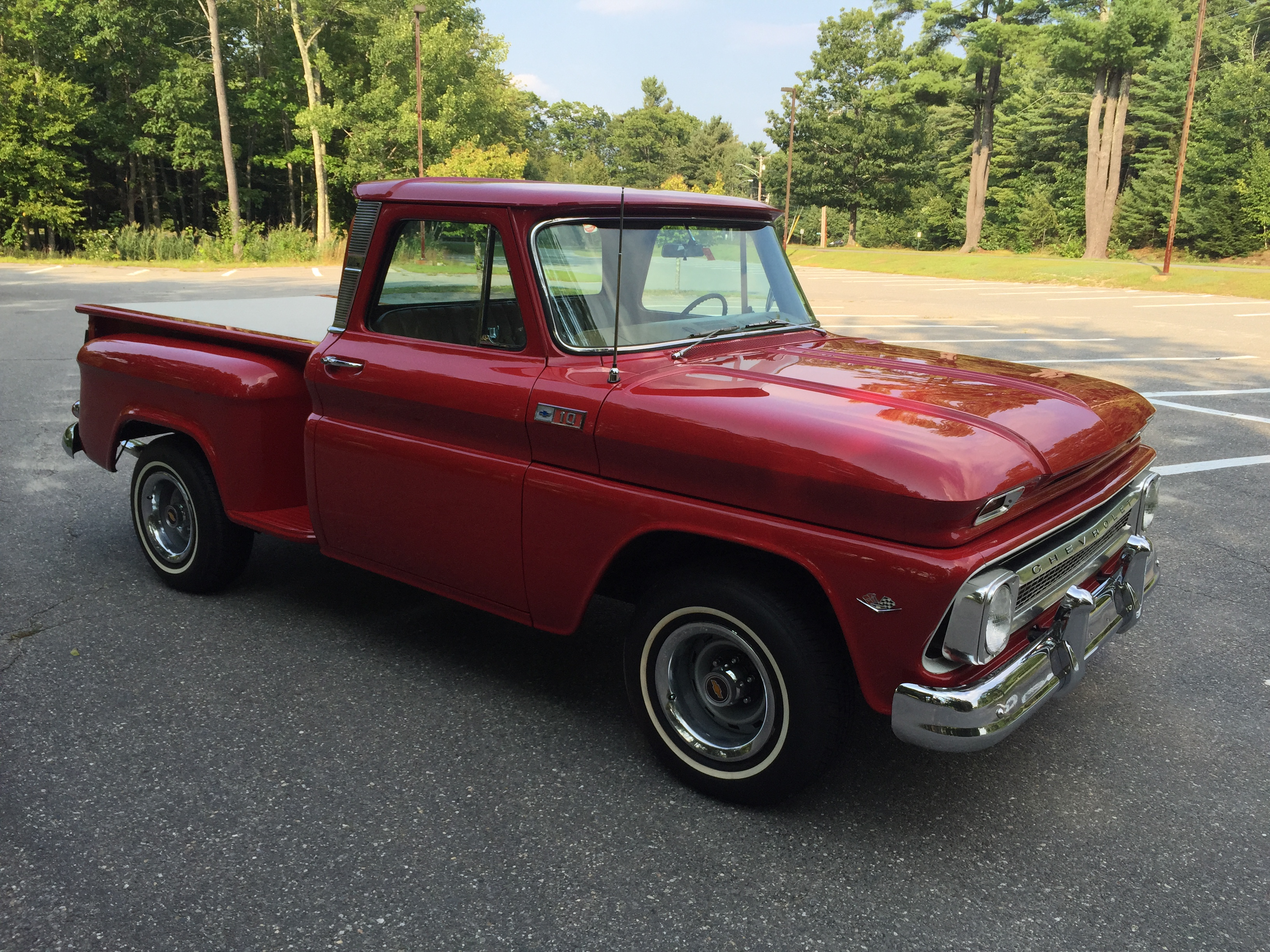 1965 Chevrolet C10 Step Side Short Bed W 4 Speed Barn