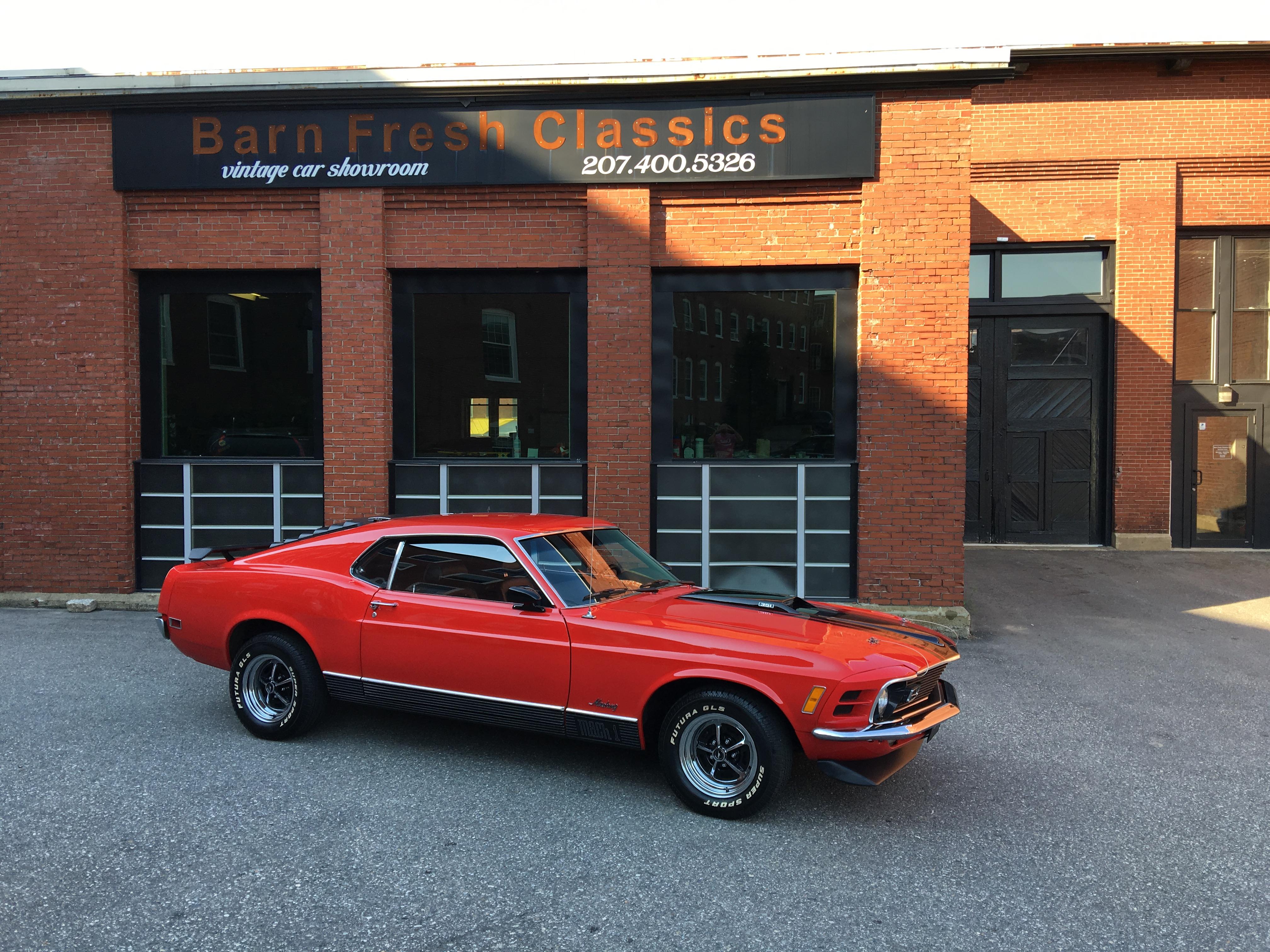 1970 Ford Mustang Mach 1 Tribute Barn Fresh Classics LLC