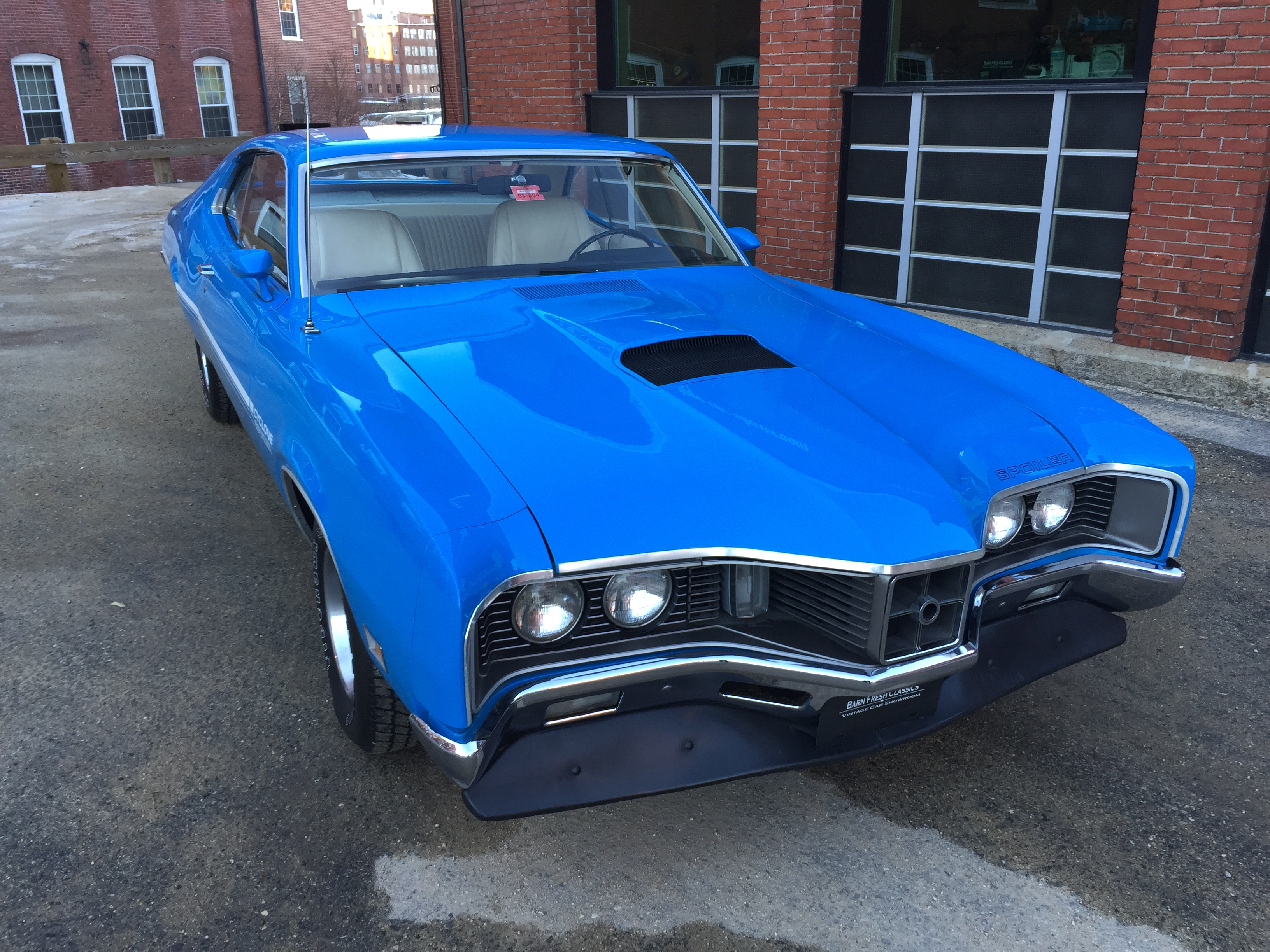 1970 Mercury Cyclone Spoiler 429 Cobra Jet Barn Fresh