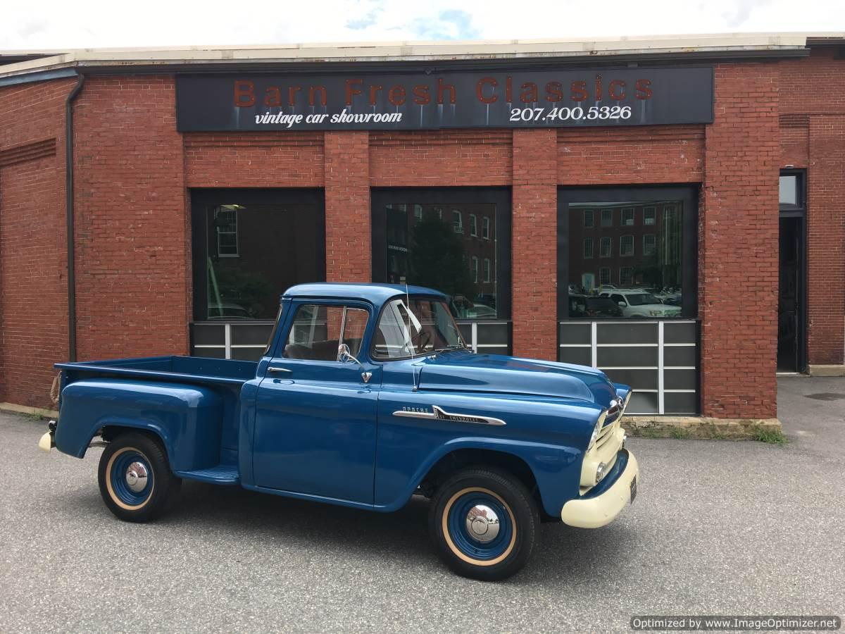 1958 Chevrolet Apache 3100 - Barn Fresh Classics, LLC